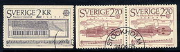 SWEDEN 1985 Europa: Music Year Used.  Michel 1328-29 - Sweden