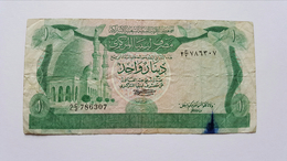 LIBIA 1 DINAR 1981 - Libia