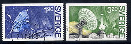 SWEDEN 1984 VIKING Satellite Project, Used.  Michel 1305-06 - Sweden