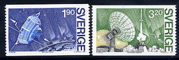 SWEDEN 1984 VIKING Satellite Project, MNH / **.  Michel 1305-06 - Unused Stamps