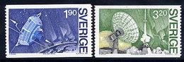 SWEDEN 1984 VIKING Satellite Project, MNH / **.  Michel 1305-06 - Sweden