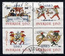 SWEDEN 1983 Christmas Used.  Michel 1258-61 - Sweden