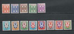 SÉNÉGAL Scott J32-J36, O1-O8 Yvert Taxe 32-36, Service 1-8 (13) * Cote 9,75 $ 1961 - Sénégal (1960-...)