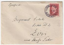 Yugoslavia Letter Cover Travelled 1950 Ljubljana To Ziri Bb170105 - 1945-1992 Sozialistische Föderative Republik Jugoslawien