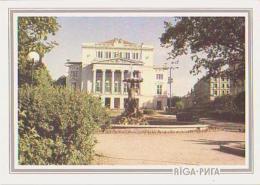 Lettonie        H11        Riga.Latvijas PSR  Valsti Akadimiskais... - Lettonie