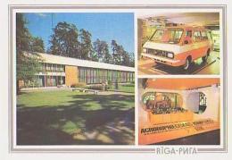 Lettonie        H24        Riga.Lavitjas PSR Tautas Saimniecibas Sasneguma Izstädi ( 3 Vues ) - Lettonie