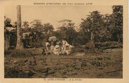 COTE D' IVOIRE    A LA  FERME      (NUOVA) - Costa D'Avorio