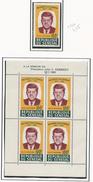 SÉNÉGAL Scott C40, C40a Yvert PA46, BF2 (1+bloc) ** 1964 Cote 15 $ - Sénégal (1960-...)