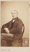 CDV M Jourdan Père Avocat Le Luc Var Par  Bertier Paris Vers 1860 - Personas Anónimos