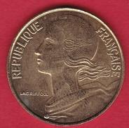 France 20 Centimes Marianne 1996 - SUP - E. 20 Centesimi