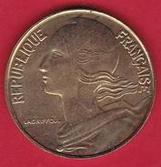 France 20 Centimes Marianne 1997 - SUP - E. 20 Centesimi