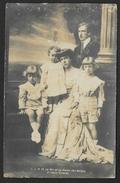 Carte Photo Famille Royale Belgique - Belgien