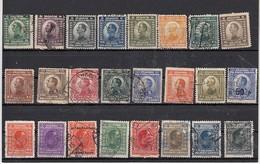 Yougoslavie  Lot De 24 Timbres  Alexandre 1er - Oblitérés
