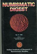 NUMISMATIC DIGEST  21x13  Vol 17 1993 258 Page - Livres & Logiciels