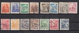 Yougoslavie  Lot De 15 Timbres   1945 - 1950 - 1945-1992 Repubblica Socialista Federale Di Jugoslavia