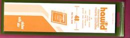 5 LOTS DE 25 BANDES HAWID FOND TRANSPARENT SIMPLE SOUDURE 210 X 48 ENVIRON 30% DE REMISE - - Timbres