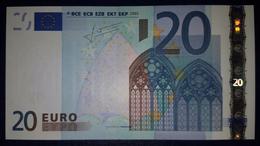 20 EURO Slovenia E003A5 Serie H  Perfect UNC - EURO