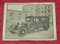 Carton Publicités : Ambulance Des Broteaux : 95 Boulevard Des Belges - Lyon - 69 ---------- 406 - Advertising