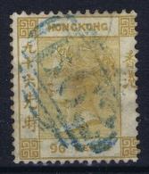 Hong Kong : Sg 18   Mi Nr 16   Gestempelt/used/obl.  1866 Olive Bistre Clear Postmark B62 - Used Stamps