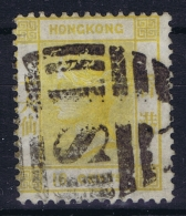 Hong Kong : Sg 22   Mi Nr 22   Gestempelt/used/obl.  1877 Clear Postmark SI Shanghai  Small Tear At Left Top - Used Stamps