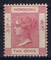Hong Kong : Sg 32 Rosé  Mi Nr 35 A  WM CA MH/* Falz/ Charniere - Unused Stamps