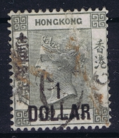 Hong Kong : Sg 42  Mi Nr 41 Gestempelt/used/obl. 1885 - Used Stamps