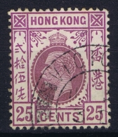 Hong Kong : Sg 109 Mi 106 II   Gestempelt/used/obl. 1912 - Hong Kong (...-1997)