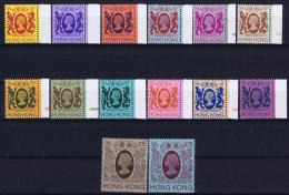 Hong Kong  1982 Definitives  Part WM Sideways ( I.e. 20 + 50 $) MNH/**/postfrisch/neuf Sans Charniere - Hong Kong (...-1997)