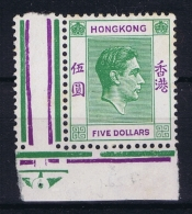 Hong Kong   Mi Nr 160  Sg 160  MH/* Falz/ Charniere 1946 - Hong Kong (...-1997)