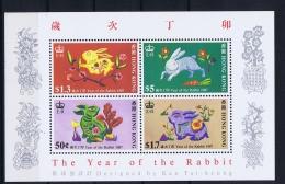Hong Kong  Mi  Block Nr 7  1987  MNH/**/postfrisch/neuf Sans Charniere - Blocks & Sheetlets