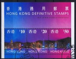 Hong Kong  Mi  Block Nr 47    Used Obl - Blocks & Sheetlets