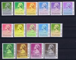 Hong Kong  Mi Nr 507 - 521  MNH/**/postfrisch/neuf Sans Charniere 1987 $ 50 Has A Spot - Hong Kong (...-1997)