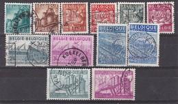 BELGIQUE - N°Y&T - Série 761/72 - Les 12 Valeurs - Exportations     - Oblit - Oblitérés