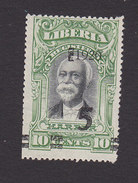 Liberia, Scott #180, Mint No Gum, President Garretson Gibson Surcharged, Issued 1920 - Liberia