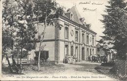 SAINTE MARGUERITE SUR MER. PHARE D'AILLY. HOTEL DES SAPINS - France