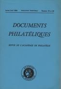 Documents Philateliques - Numero 19-20 - Voir Sommaire - Reedition - Frais De Port 2.50 Euros - Littérature