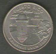 STATI UNITI QUARTER DOLLAR 2009 PUERTO RICO - 1999-2009: State Quarters