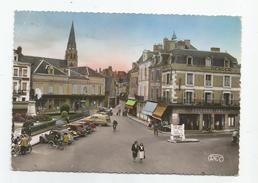 36 - Indre - Argenton Sur Creuse Place De La République Et Rue Grande Café Pourquoi ? - Frankreich