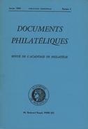 Documents Philateliques - Numero 3 - Voir Sommaire - Reedition - Frais De Port 1.50 Euros - Littérature