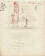 LAC Conseiller D'état Enregistrement Et Domaines Affranchi Par L'état Pour Mons Jemmapes Jemappes 1809 - Marcofilie (Brieven)