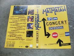 """Rare Film : """" Matmatah Concert Intégral  """" - Concert Et Musique"""
