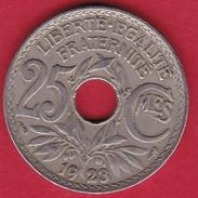 France 25 Centimes Lindauer 1923 - F. 25 Centesimi