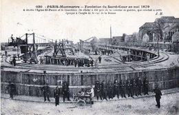 Montmartre. Fondation Du Sacré Coeur 1879 - Sacré Coeur