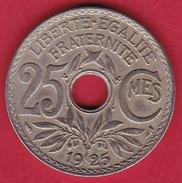 France 25 Centimes Lindauer 1925 - F. 25 Centesimi