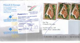 Italia Busta Viaggiata E Ritornata  Italia  Anno 2013 Con Bolli 2013  P:O. See Scan - 6. 1946-.. Repubblica