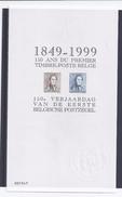 Belgie - Belgique ZNE9 - Velletje Uit Tentoonstellingscatalogus 1999  -  1 En 2
