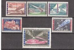 BELGIQUE 1958, Série Exposition Universelle BRUXELLES, Yvert  1047 / 1052, Neuve ** / MNH