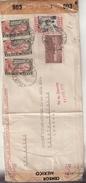 MEXIQUE : PA . D'INTERNES CIVILS ITALIENS . POUR LE CICR DE GENEVE . CENSUREE . 1944 . - Mexique
