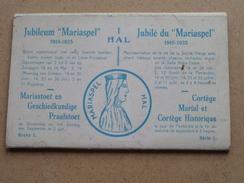 """Jubileum """" MARIASPEL """" 1910 - 1935 HAL Mariastoet ( Thill ) Serie 1 Carnet 10 Cartes ( Zie Foto´s Voor Details ) !! - Halle"""