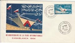 Foire Internationale De Casablanca 1964 - BT - Morocco (1956-...)